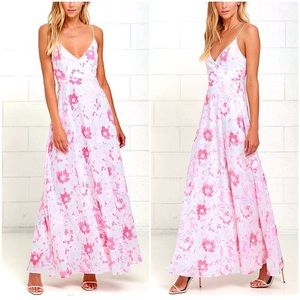 "🌸 RARE ""Dreaming of Spring"" Floral Maxi Dress 🌸"